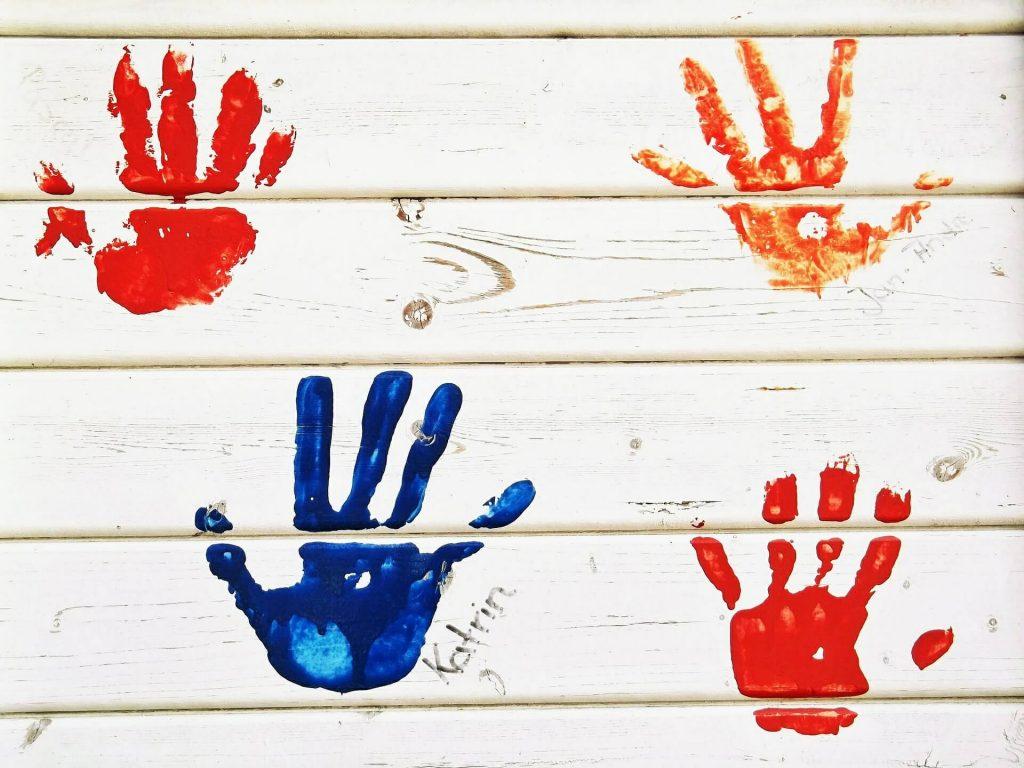 Dit is ook een bijzondere muurschildering voor een kinderkamers