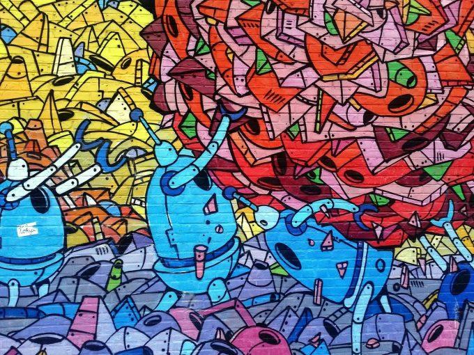 Muurschilderingen voor kinderkamers zijn gaaf!