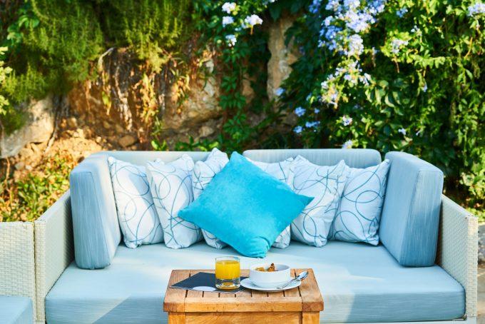 loungeset blauw